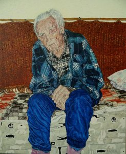 Portret of an old man