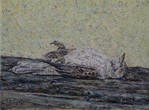Stil life no.13: De Tjiftjaf (the warbler)