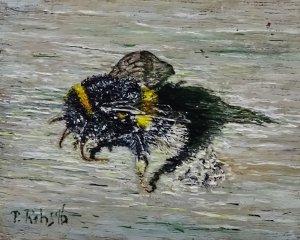 Stilleven no 14 The Bumblebee