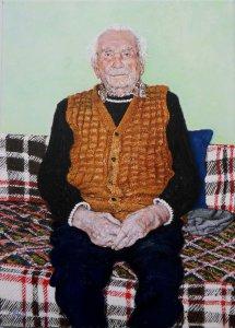 Portrait of Béla bácsi